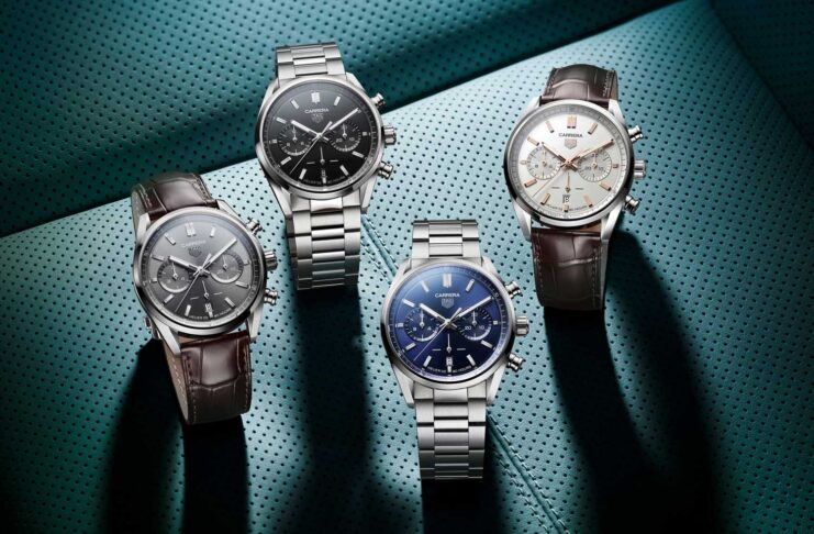 The new TAG Heuer Carrera collection