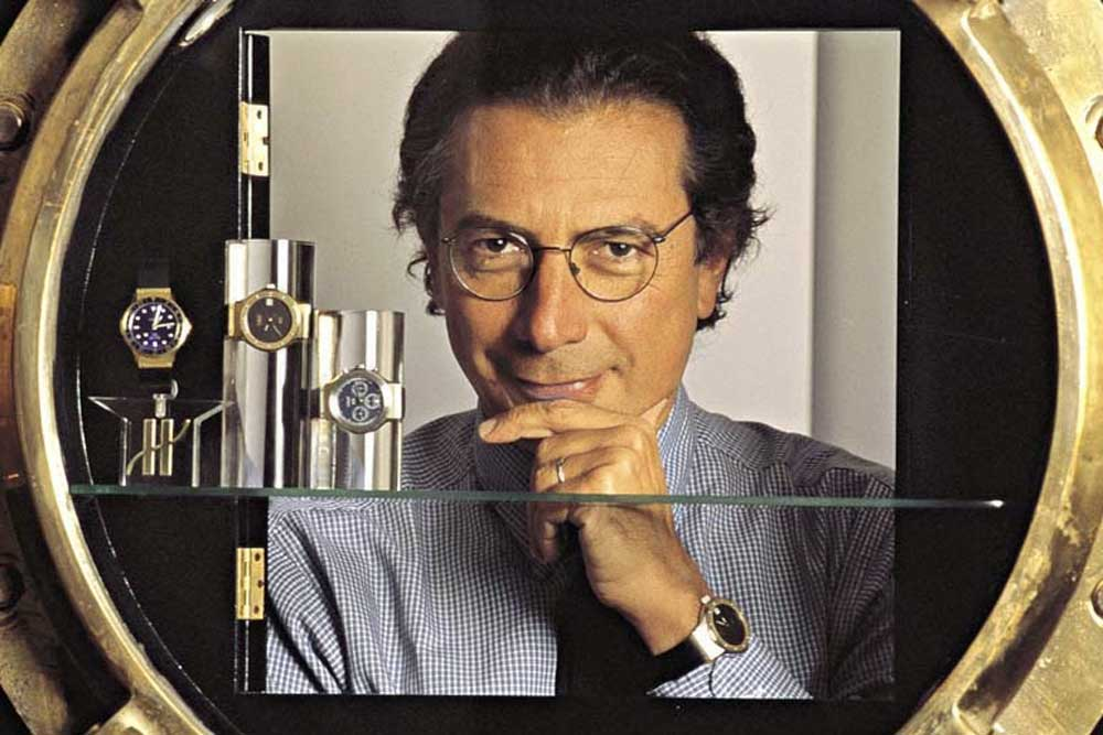 Italian gent Carlo Crocco, who established the brand MDM Geneve and gave the world its first luxury sports chic watch on a rubber strap, the Hublot in 1980
