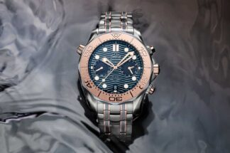 Omega Seamaster 300M Chronograph in Gold, Titanium and Tantalum