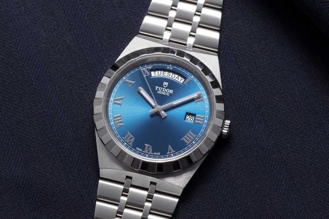 The Tudor Royal, 41mm in Stainless Steel with day-date indication