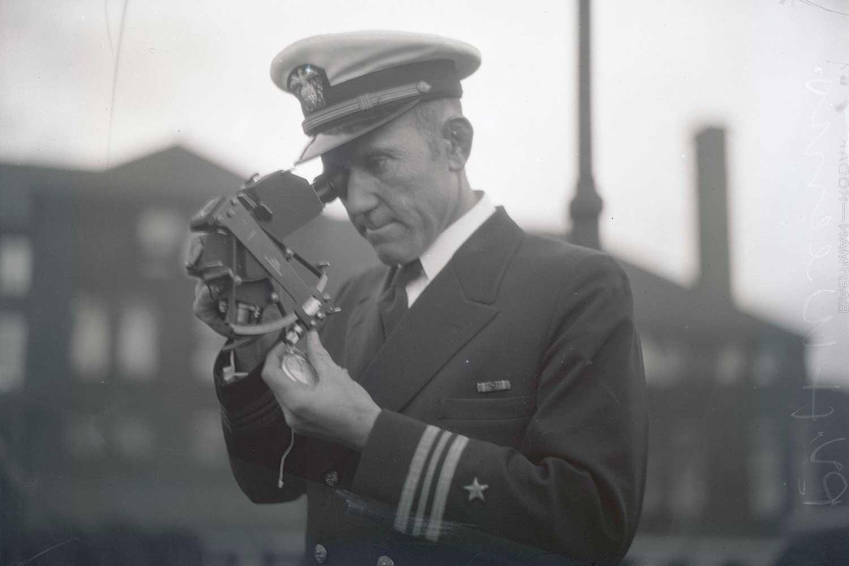 U.S. Navy officer Lieutenant Commander Philip Van Horn Weems (Image TBWS)