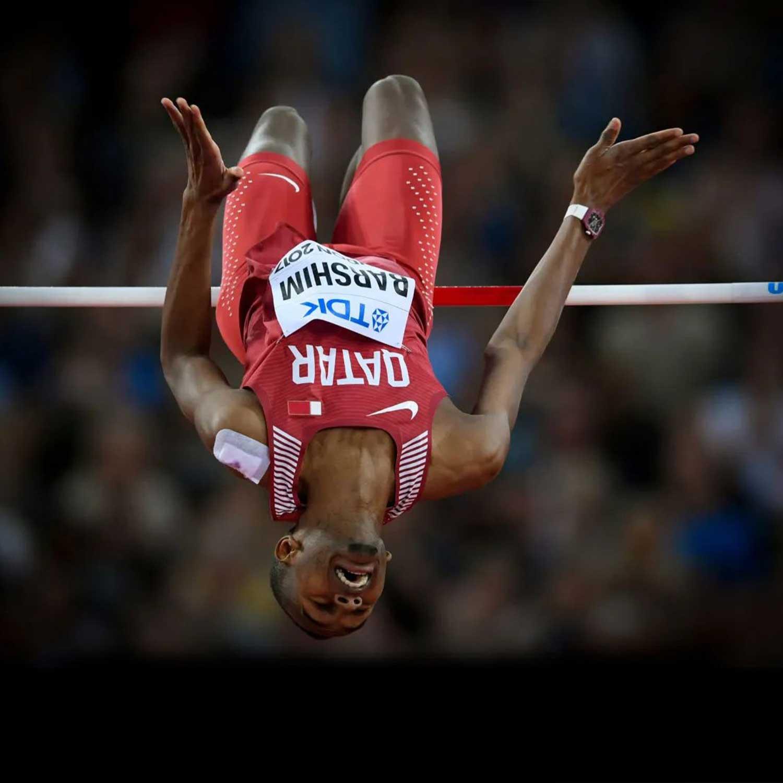 Qatari high jumper, Mutaz Essa Barshim