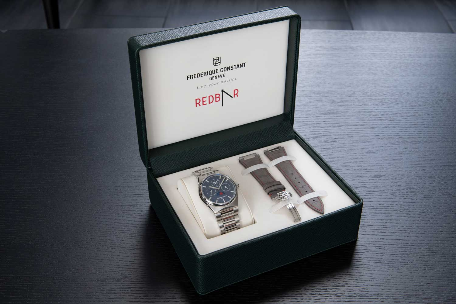 The watch is exclusively allocated to RedBar members only.