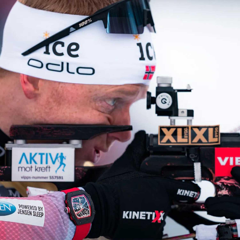 Norwegian biathlete, Johannes Thingnes Bø