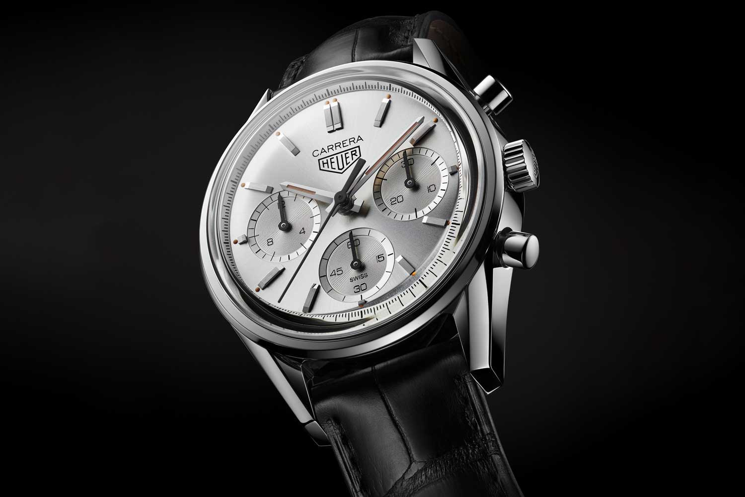 TAG Heuer Carrera 160 Years Silver Limited Edition (1860 pieces) ©Revolution