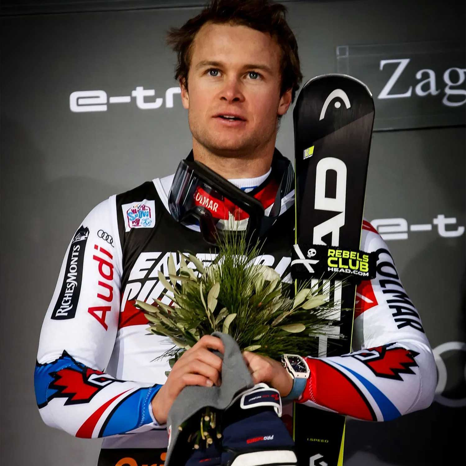 World Cup alpine ski racer and Olympic medalist, Alexis Pinturault