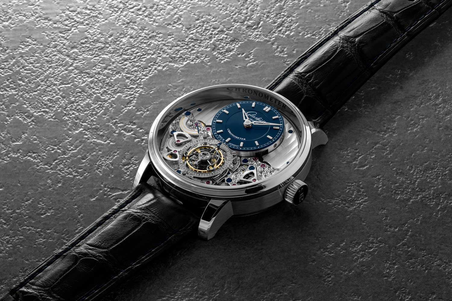 Glashütte Original Senator Chronometer Tourbillon (©Revolution)