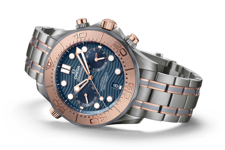 Omega Seamaster 300M Chronograph in Gold, Titanium and Tantalum