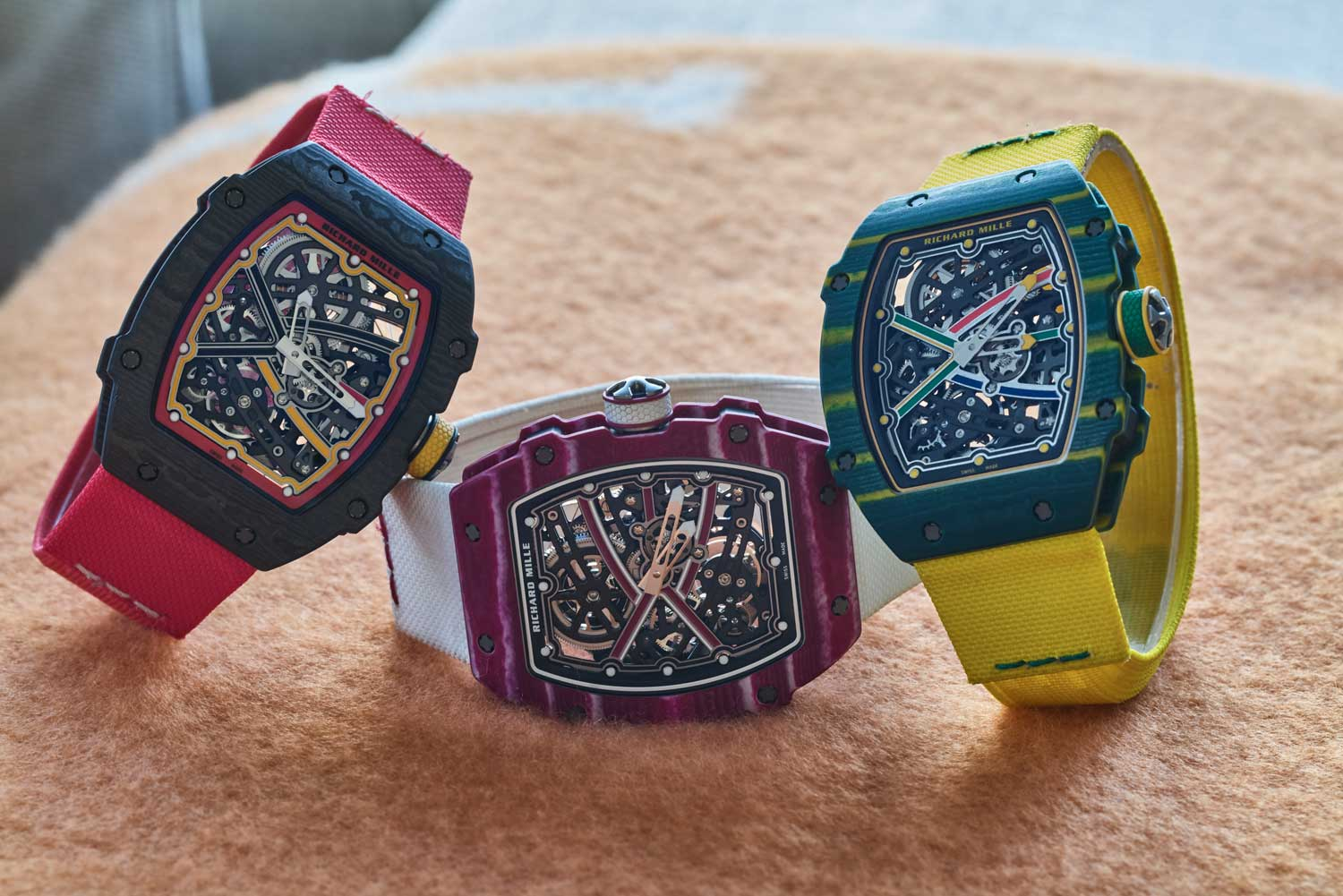 @santa_laura's collection of Richard Mille watches includes the RM 67-02 in three flavours (©Revolution)