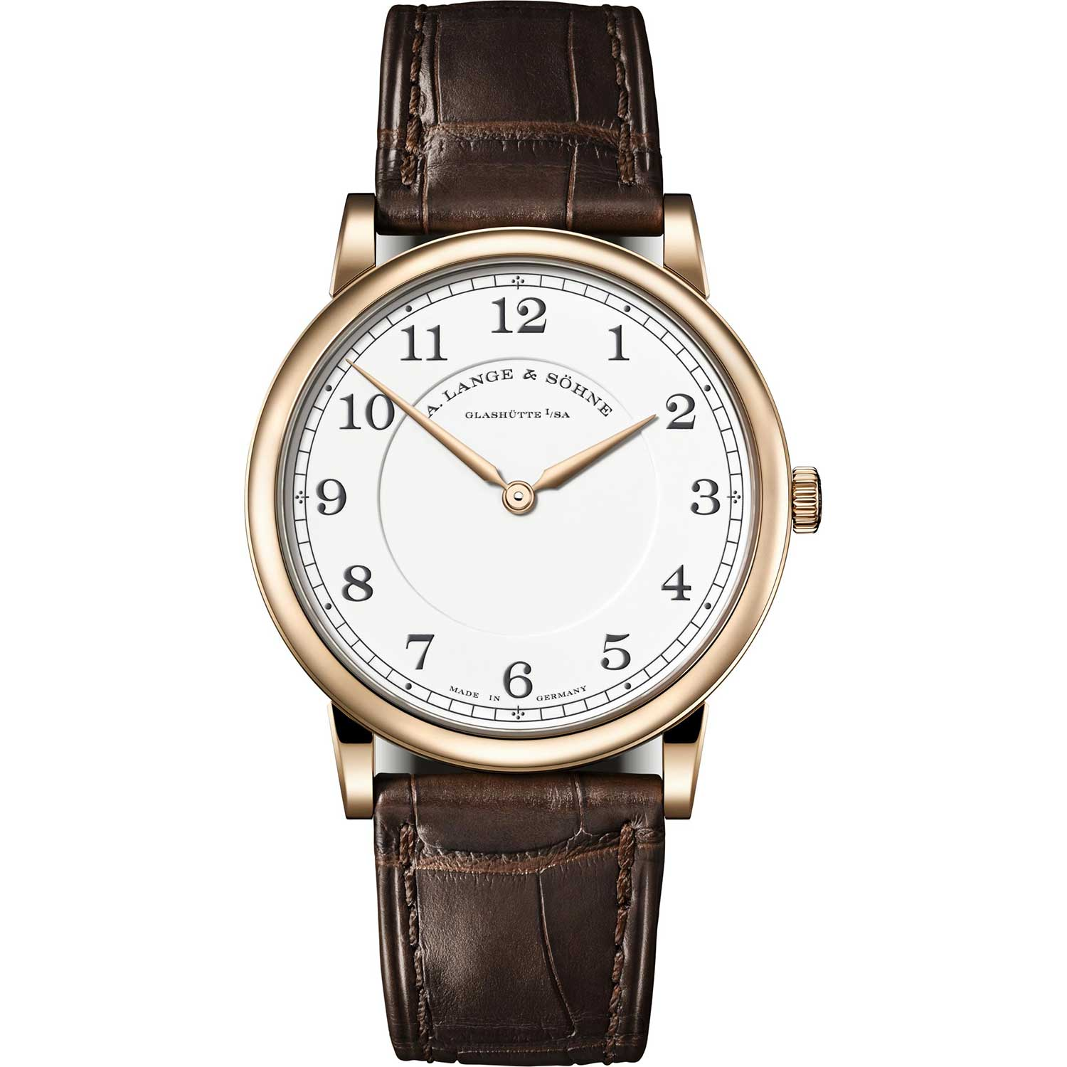 """The 1815 Thin Honeygold """"Homage to F. A. Lange"""""""