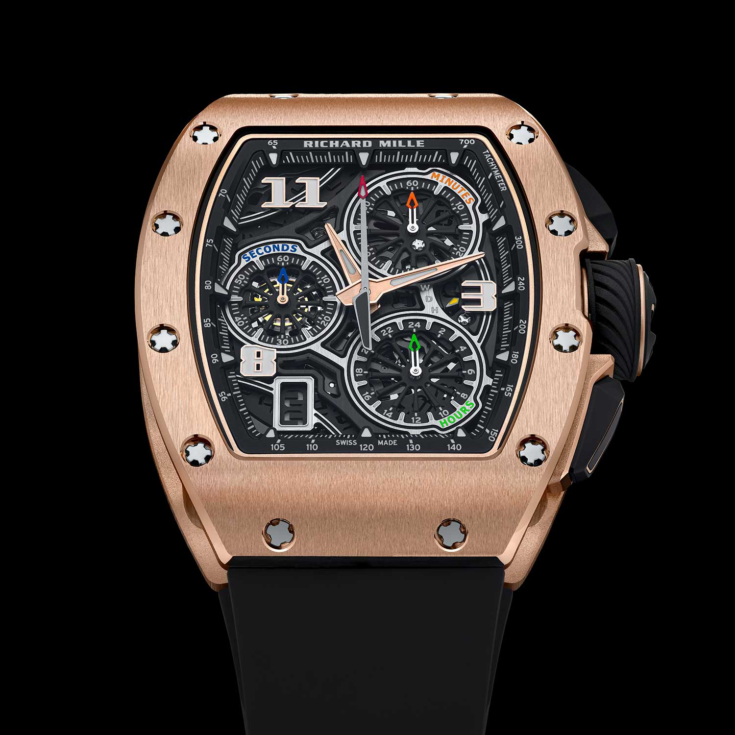 The RM 72-01 Lifestyle Chronograph in red gold