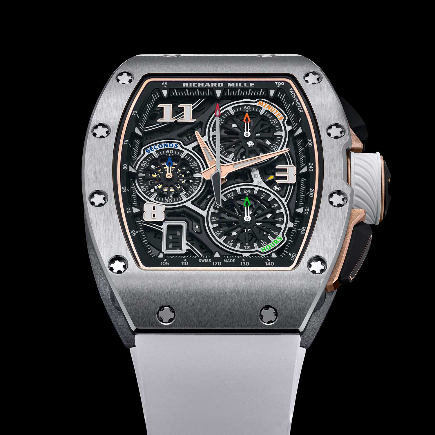 The RM 72-01 Lifestyle Chronograph in titanium