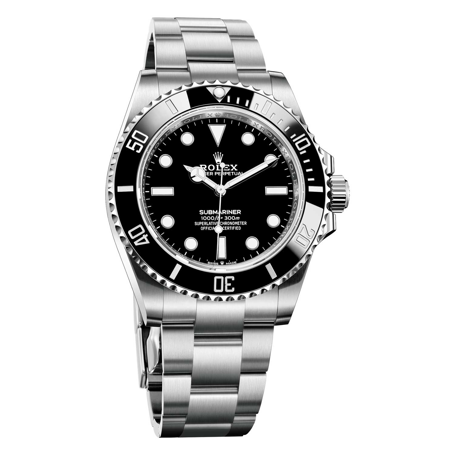 The 2020 Oyster Perpetual Submariner in Oystersteel ref. 124060
