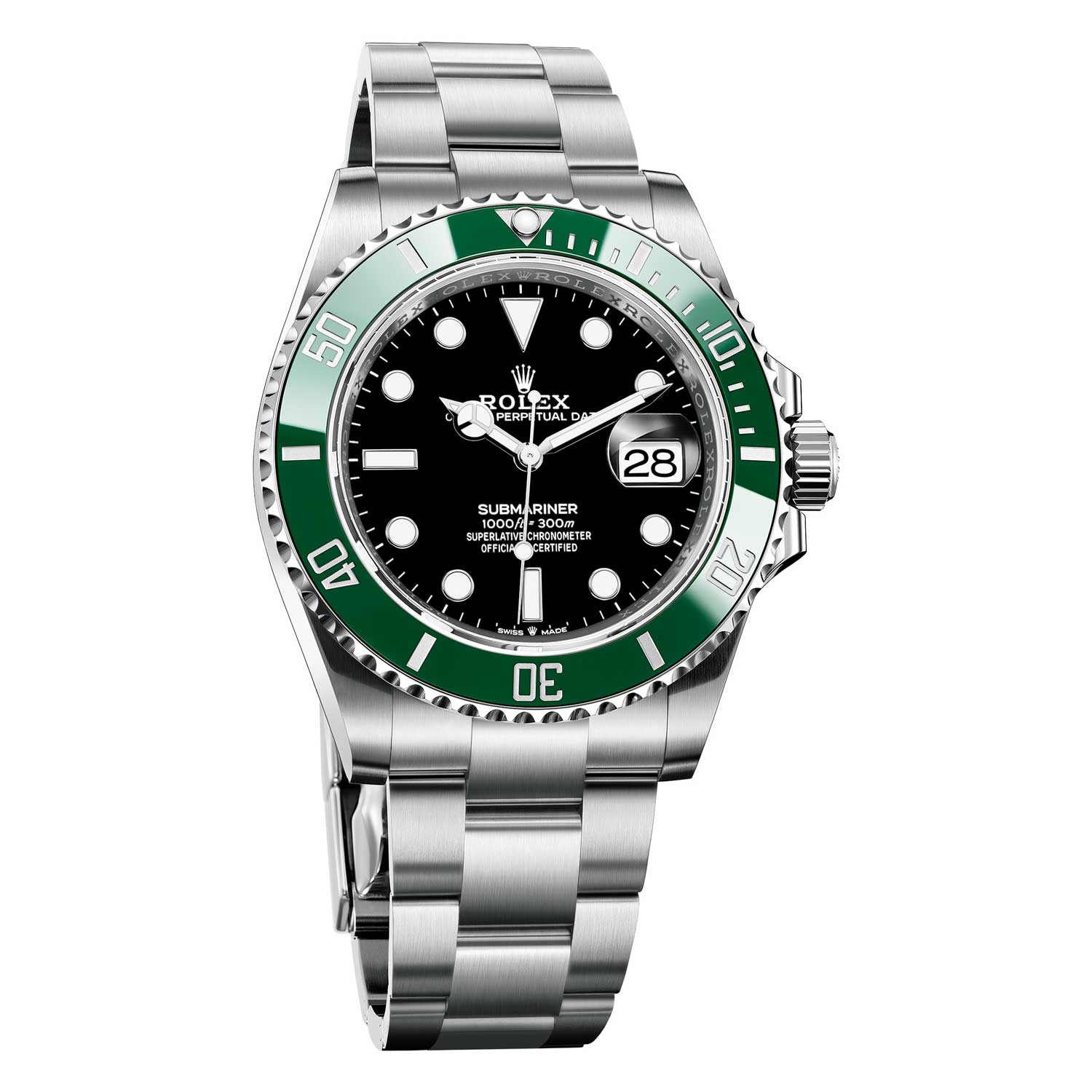 The 2020 Oyster Perpetual Submariner Date in Oystersteel ref. 126610LV