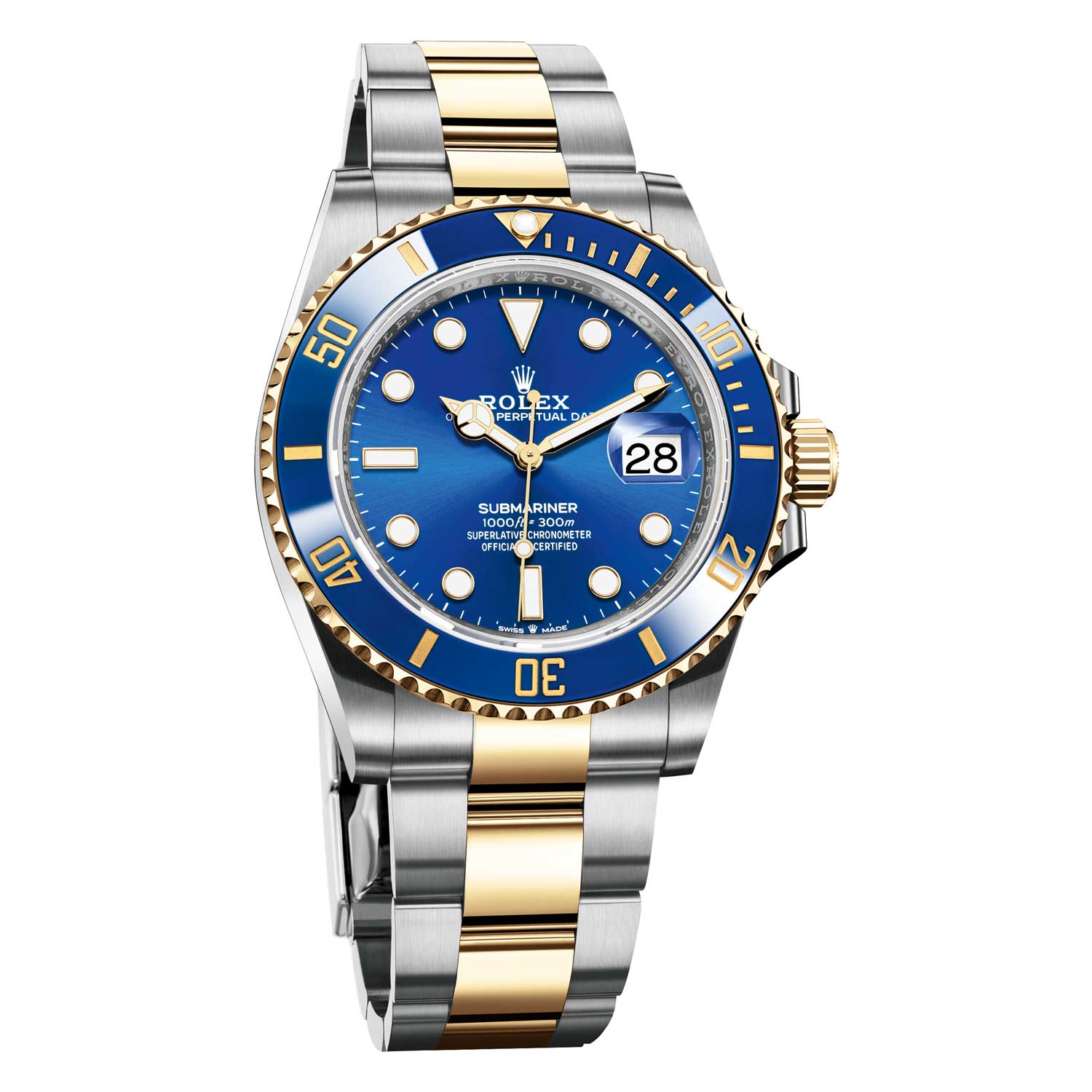 The 2020 Oyster Perpetual Submariner Date in Oystersteel and 18ct yellow gold ref. 126613LB