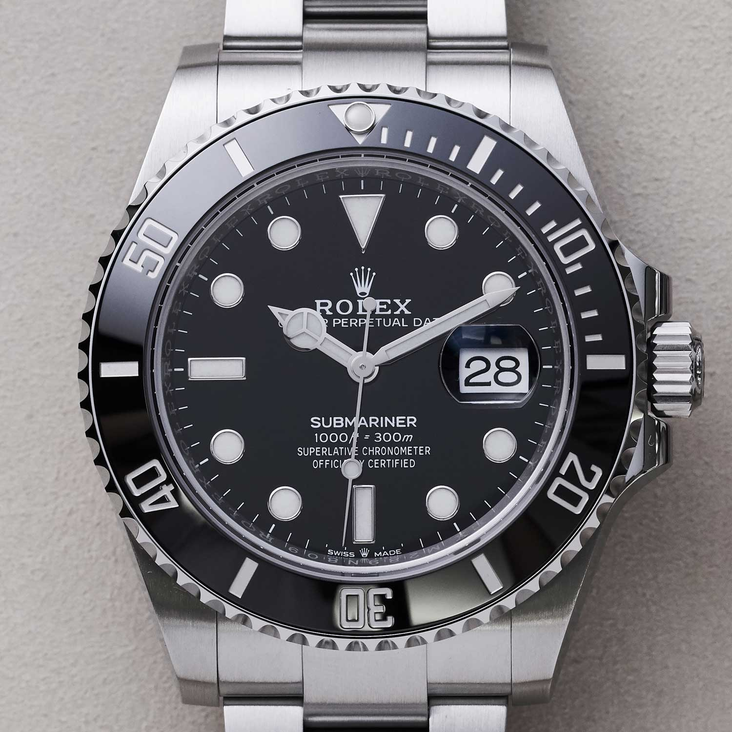 The 2020 Oyster Perpetual Submariner Date in Oystersteel ref. 126610 (©Revolution)