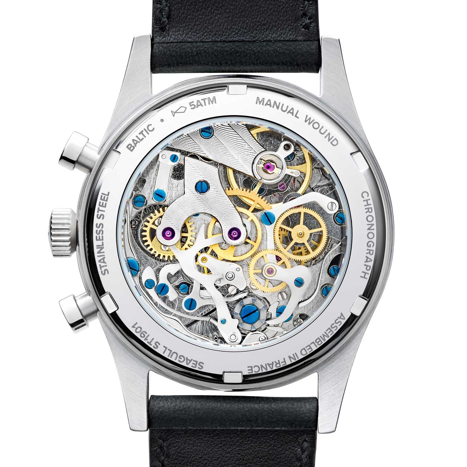 Seagull ST 19 manual winding chronograph