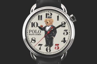The Rake X Ralph Lauren 'Negroni Bear' Polo Bear Watch