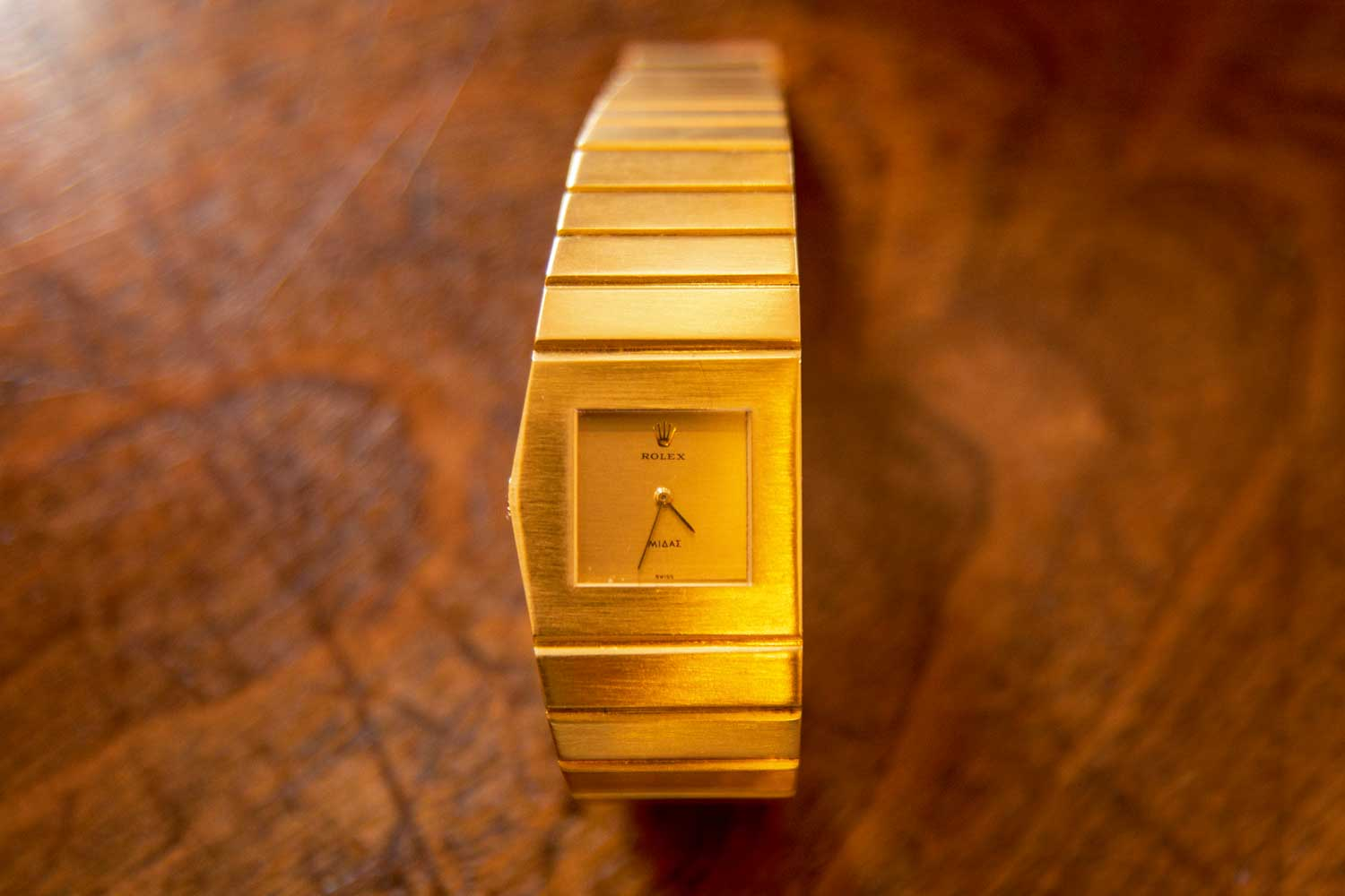 Nick Foulkes' own Rolex King MIdas Ref. 9630 (©Revolution)