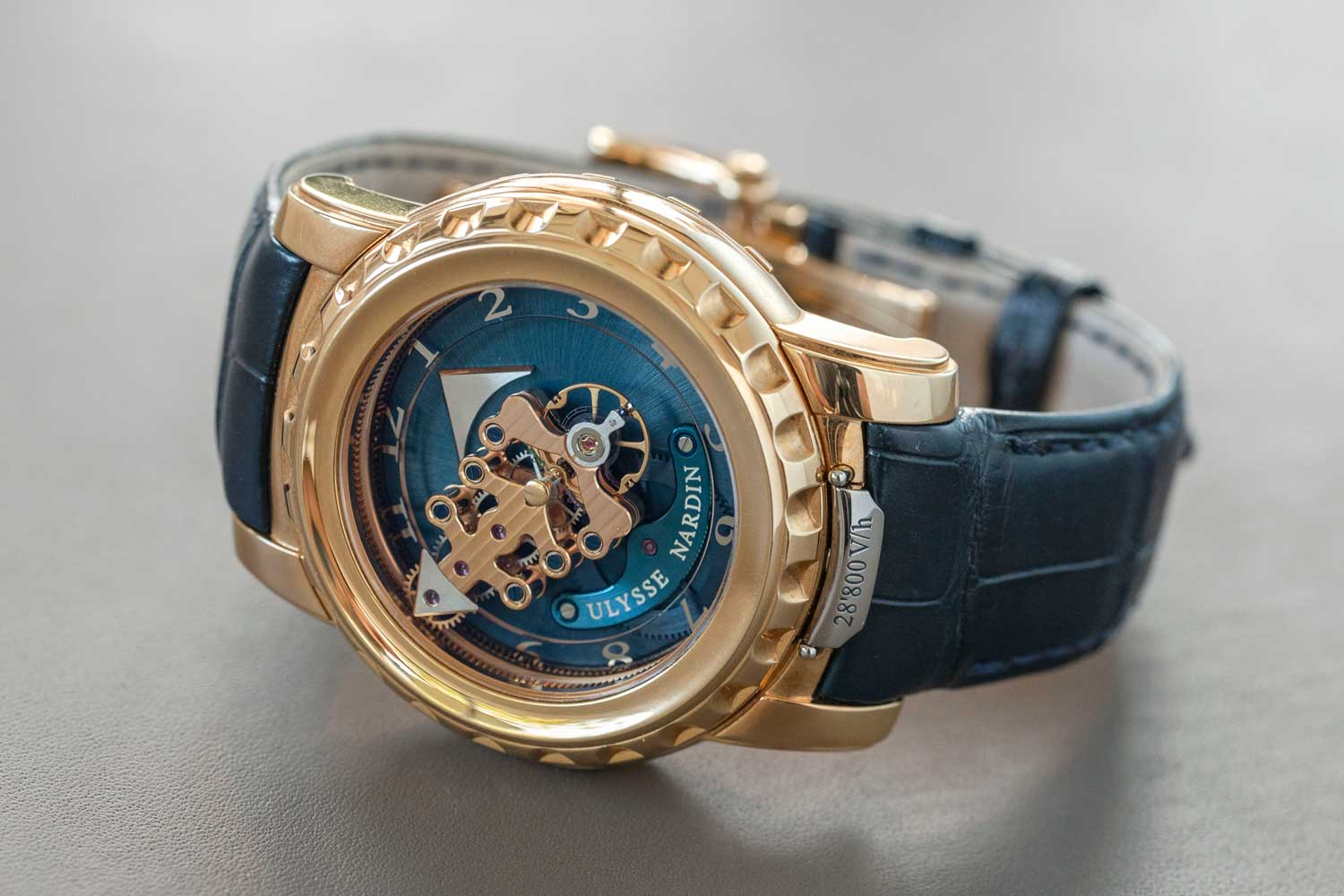 Santa Laura's first generation Ulysse Nardin Freak Ref. 026-88 (©Revolution)