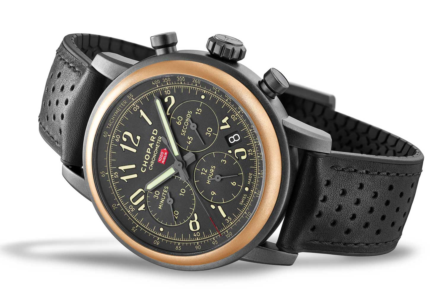 Mille Miglia 2020 Race Edition with18k ethical rose gold bezel
