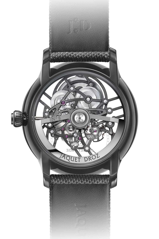 The 2020 The Jaquet Droz Grande Seconde Skelet-One in black plasma ceramic (41.5 mm)