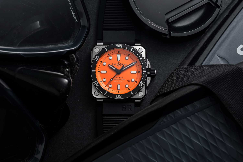 Bell & Ross BR 03-92 Diver Orange (©Revolution)