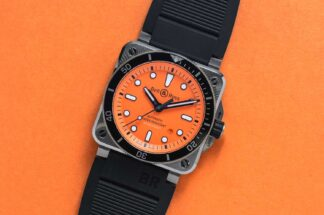 Bell & Ross BR 03-92 Diver Orange (©Revolution)
