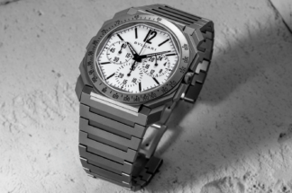 The Bulgari Octo Finissimo Chronograph GMT for Revolution & The Rake (©Revolution)