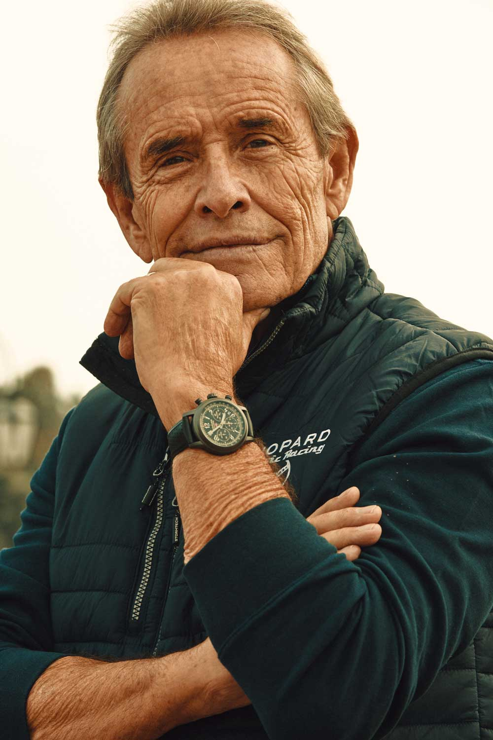 Jacky Ickx wearing the Mille Miglia Racing Edition (Photo by Adam Fussell)