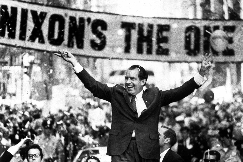 Richard Nixon becomes president