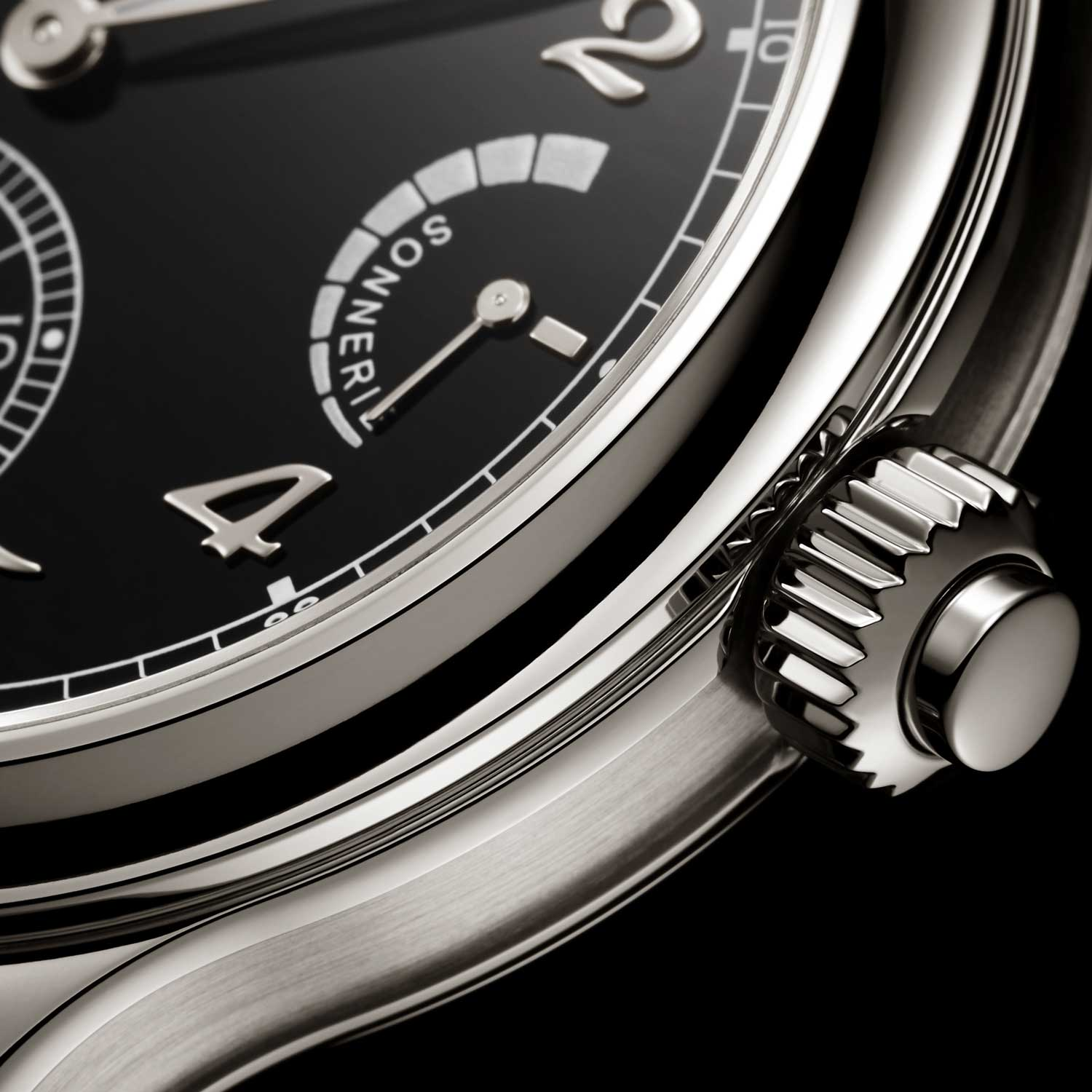 The Patek Philippe Ref. 6301P Grande Sonnerie features a power reserve indicator at 3 o'clock for the strikework mechanism