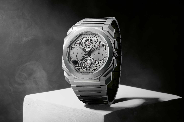 Bulgari Octo Finissimo Tourbillon Chronograph Skeleton Automatic (©Revolution/Photography Munster; Digital Editing KH Koh; Stylist Yong Wei Jian)