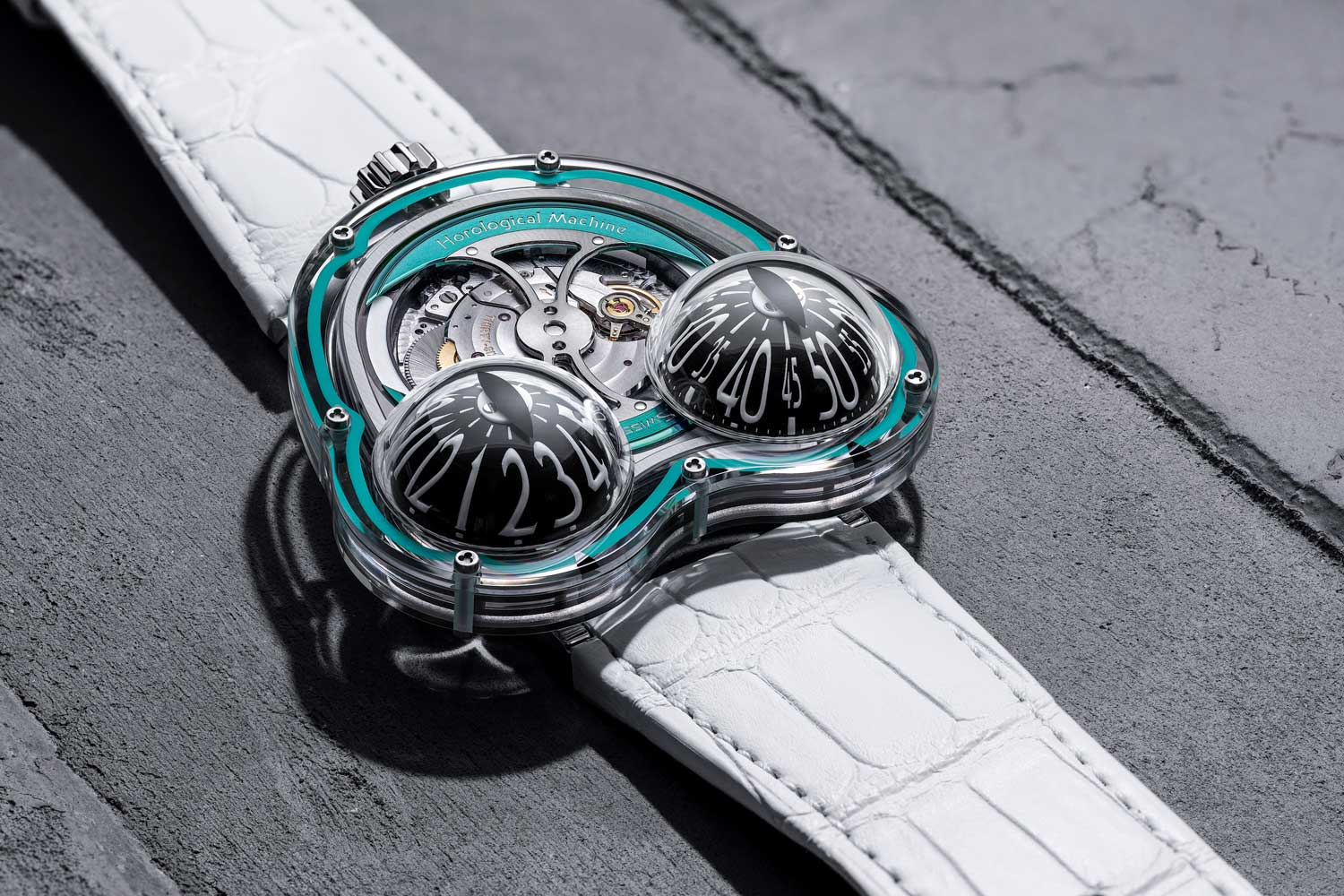 MB&F HM3 Frog X – 10th Anniversary Limited Editions
