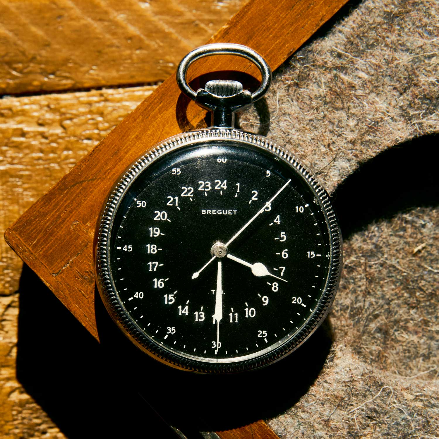 A rare Breguet dashboard pocket watch used to calculate longitude.