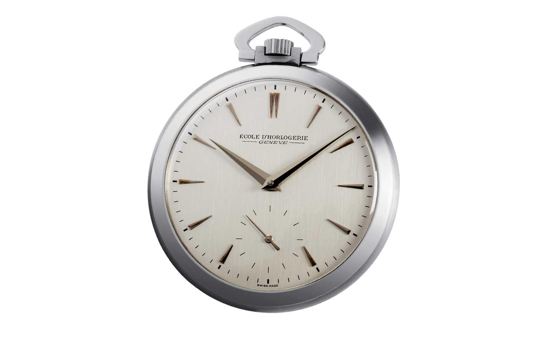 """Laurent Ferrier's Montre d'École, """"School Watch,"""" which he presented in 1968"""