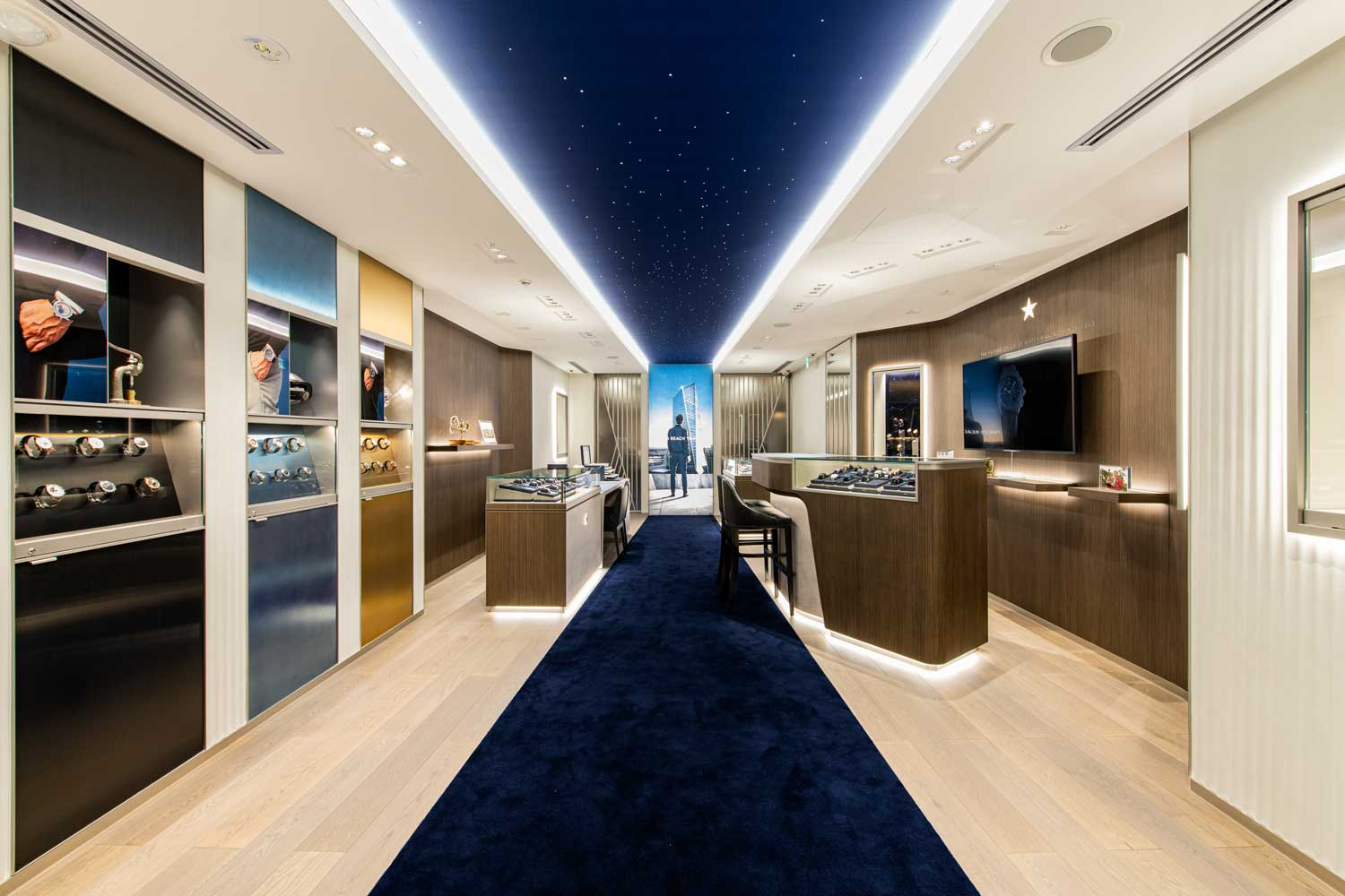 Zenith's new Ginza boutique