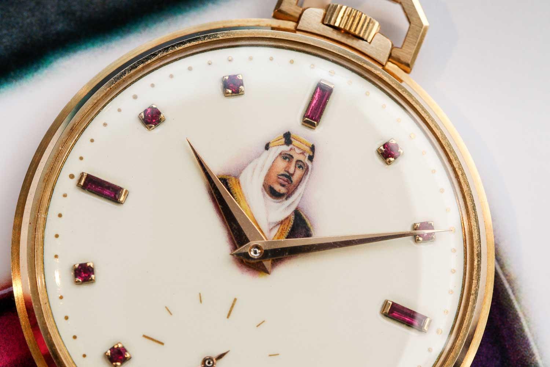 The dial features the portrait of Saud Bin Abdulaziz Al Saud, King of Saudi Arabia (©Revolution)