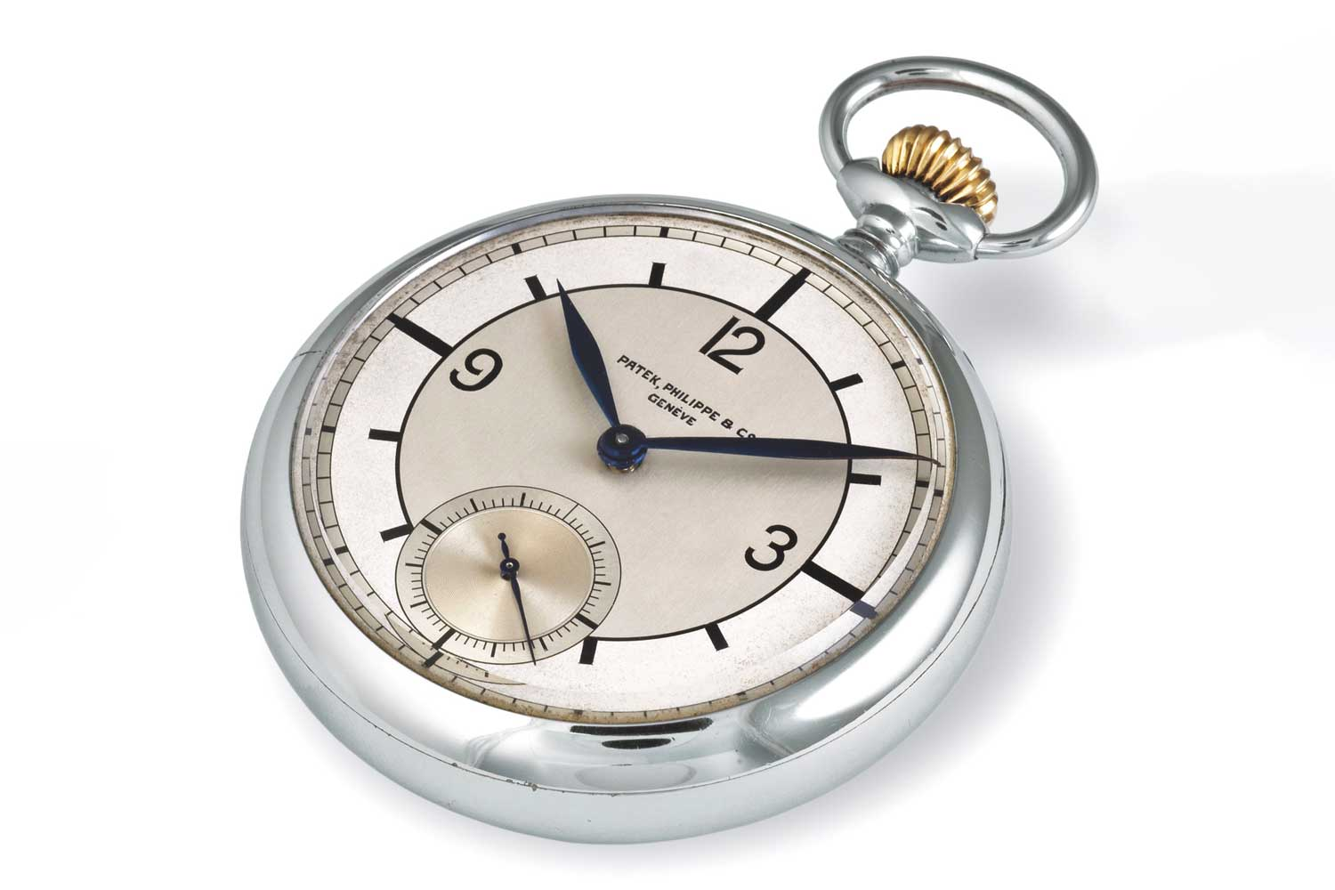 Patek Philippe pocket watch with scientific dial dating from 1923