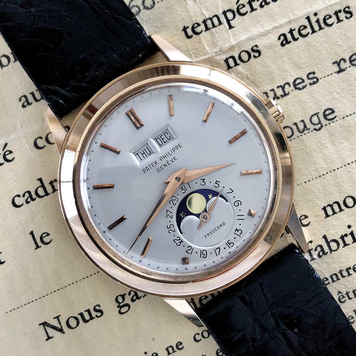 Patek Philippe 18kt Pink Gold Ref 3448 perpetual calendar