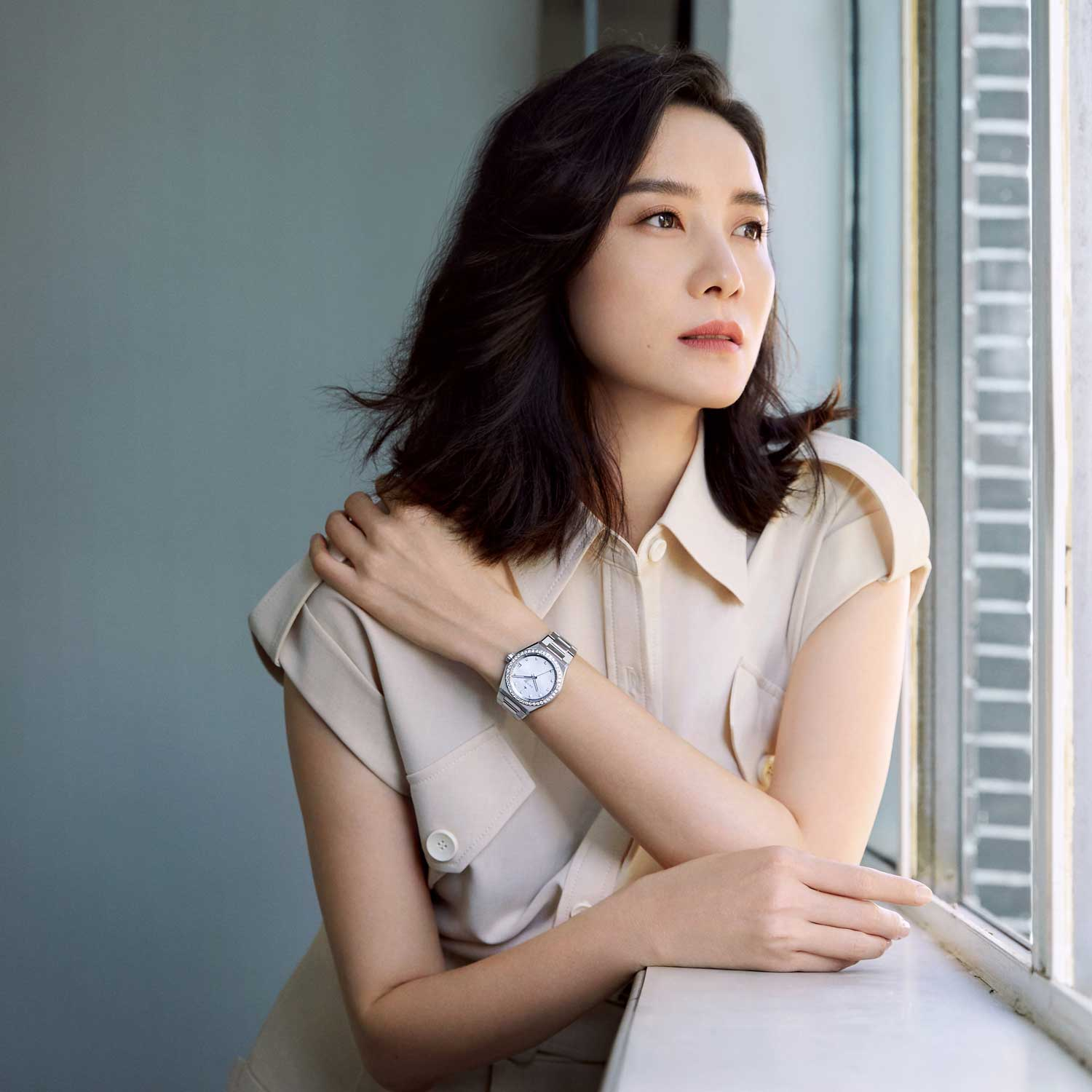 Actor, Song Jia, Ambassadors from the new DREAMHERS global campaign represent accomplished women from around the world for the launch of Zenith's first exclusive ladies collection, the DEFY Midnight.