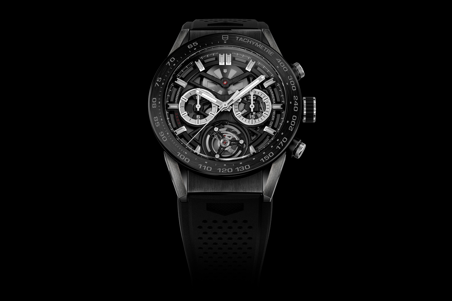 Since its announcement in 2016, the TAG Heuer Carrera Heuer 02 Tourbillon still holds the title of the world's most accessibly priced tourbillon chronograph replete with COSC certification