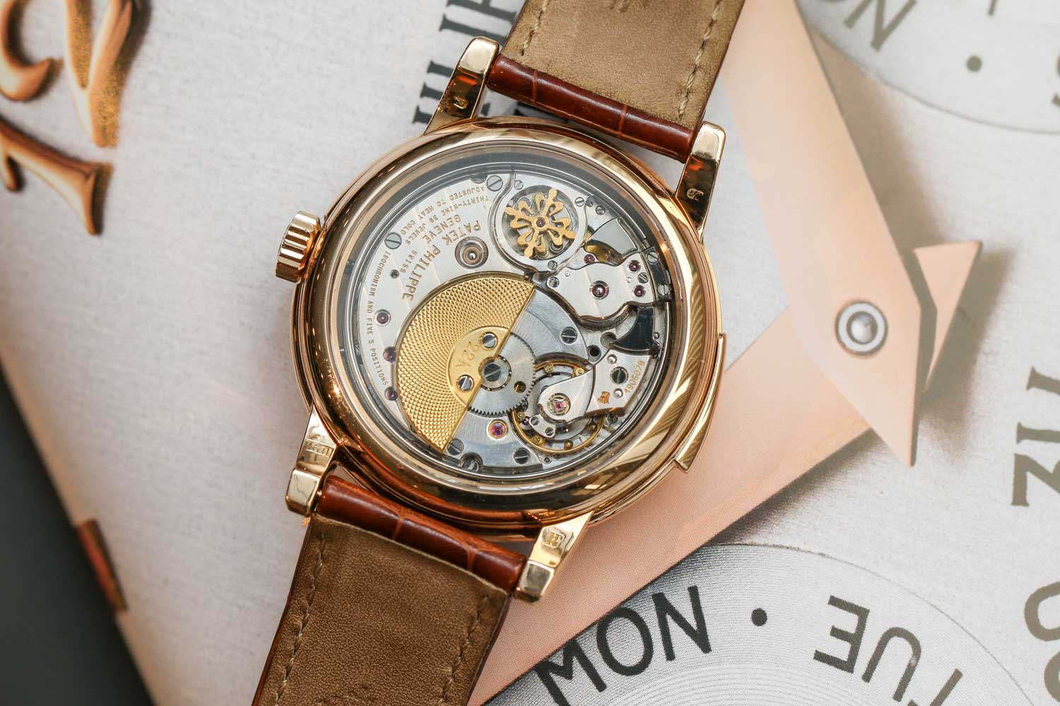 Only 15 examples were cased in pink gold (©Revolution)