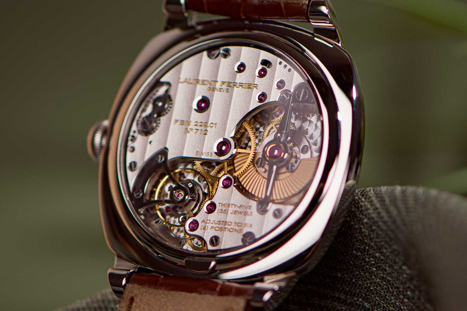 The Square won the prize for Best Horological Revelation in 2015 at the GPHG.