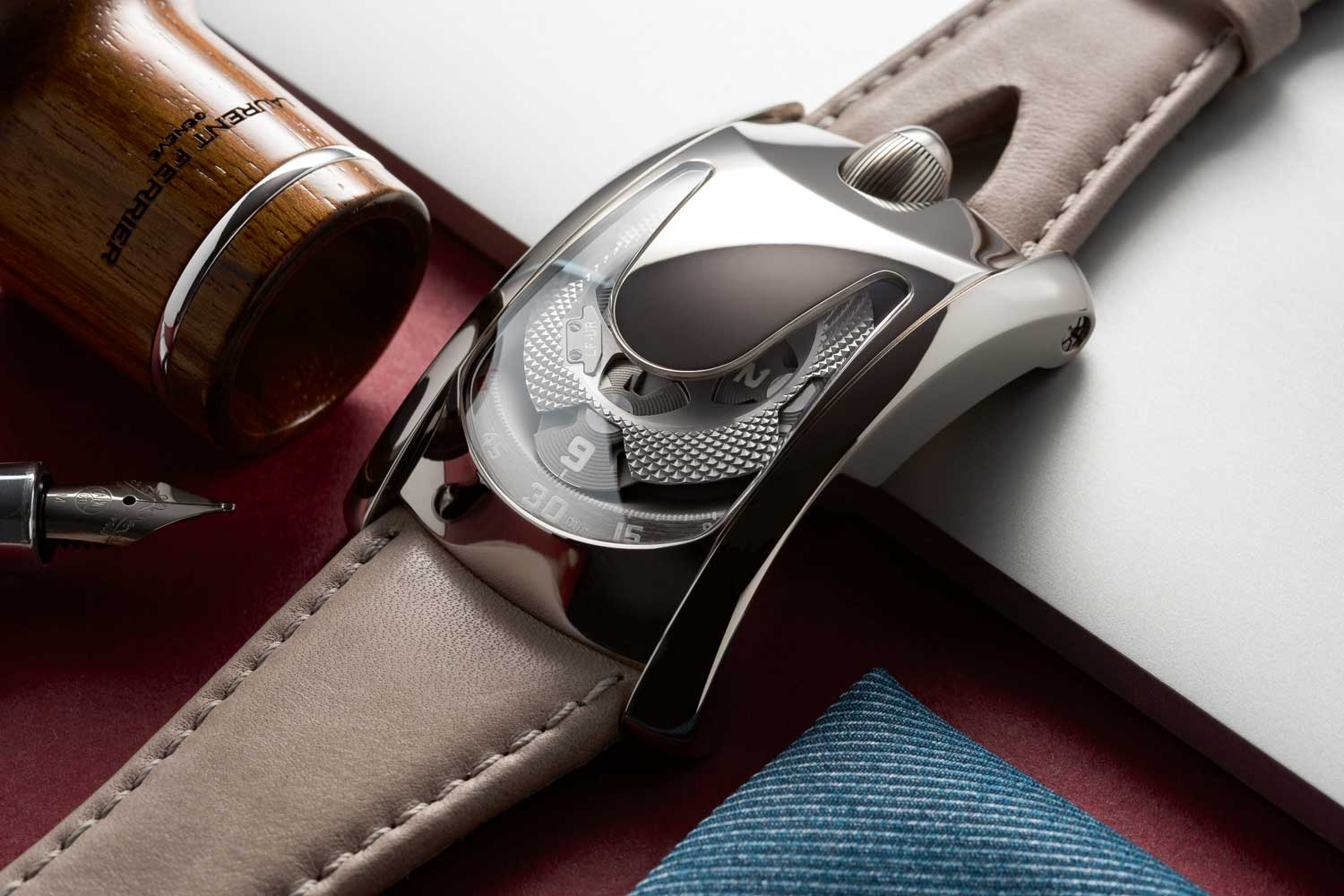 LAURENT FERRIER x URWERK for Only Watch 2017.