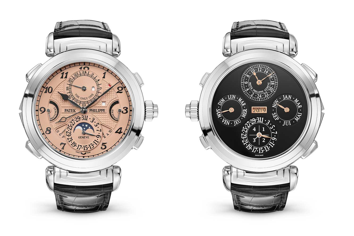 The only Grandmaster Chime in steel was sold for CHF 31 million at Only Watch 2019, fetching the highest price at the auction, becoming the most expensive watch in the world