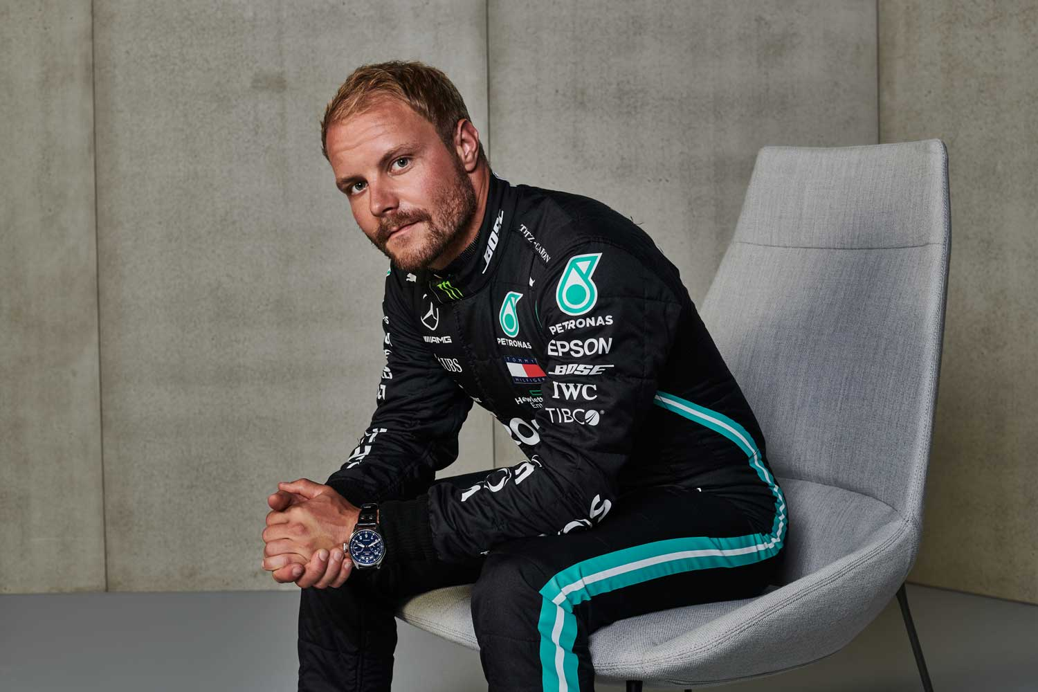 Talking F1 and watches with Valtteri Bottas