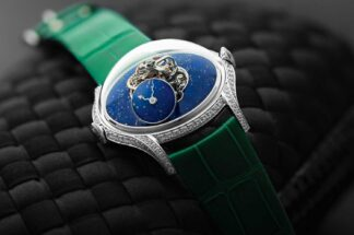 MB&F Legacy Machine FlyingT Sparkles in Lapis Lazuli