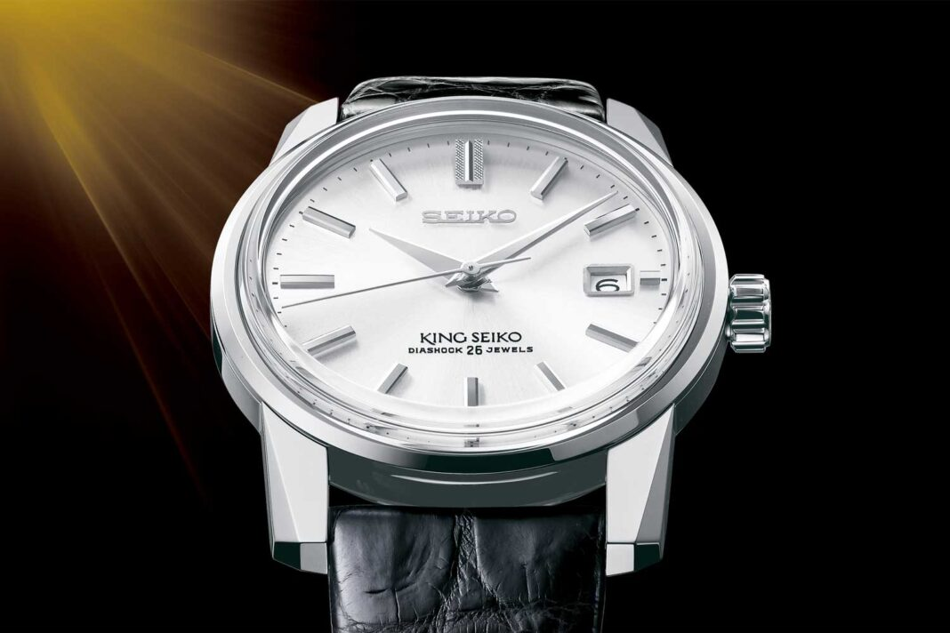 A re-creation of the King Seiko KSK, SJE083