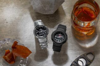 G-SHOCK AW-500E & All Metal AWM-500D (©Revolution)